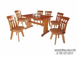 ชุดโต๊ะอาหาร รุ่น ดาม่อน 6 ที่นั่ง SPT