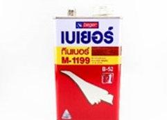 ทินเนอร์ สำหรับสีย้อมไม้ สีย้อมพืนไม้ และวาร์นิช M-1199 ขนาด 1 GL.