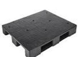 พาเลท PVC LPN-120 100*120*15 ดำหน้า 1 NASH 10218028