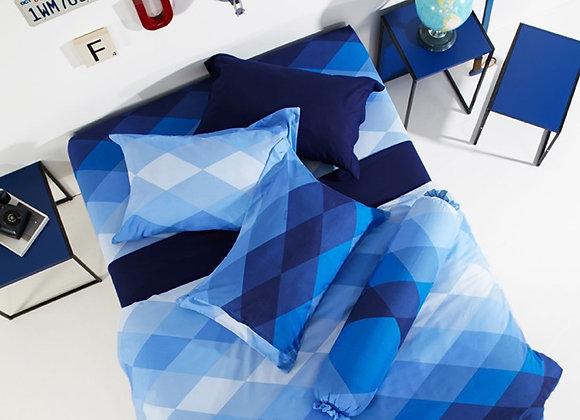 ผ้านวม+ชุดผ้าปู Lotus รุ่น Impession ขนาด 6  ฟุต (สีล้วน) คละสี