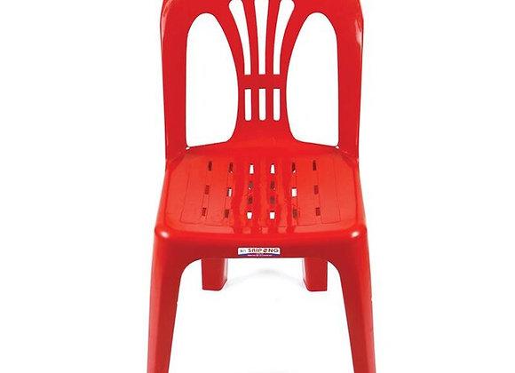 เก้าอี้ Armless Chair หลังโปร่ง คละสี Pioneer