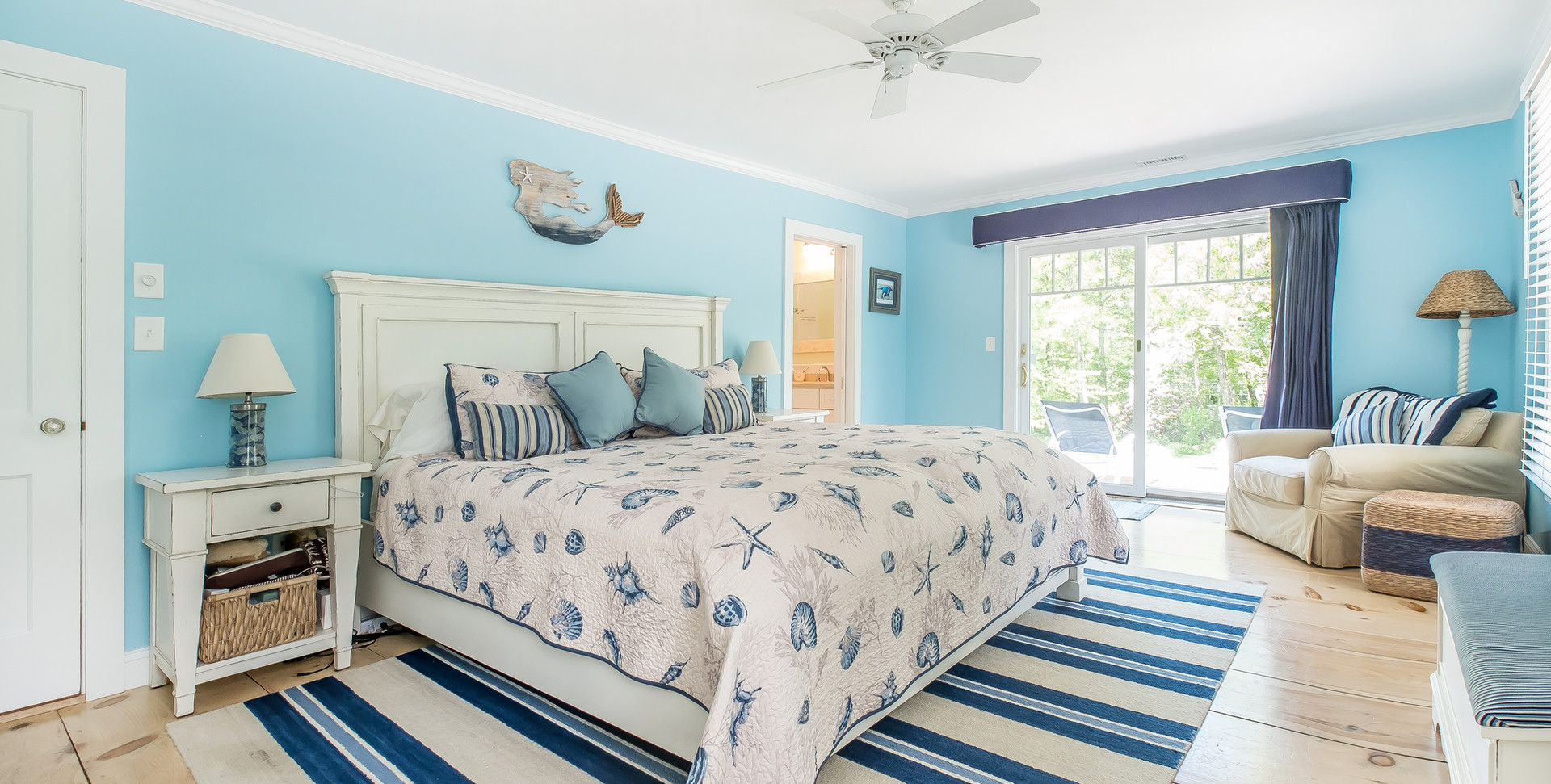 Cape Cod Blue Bedroom