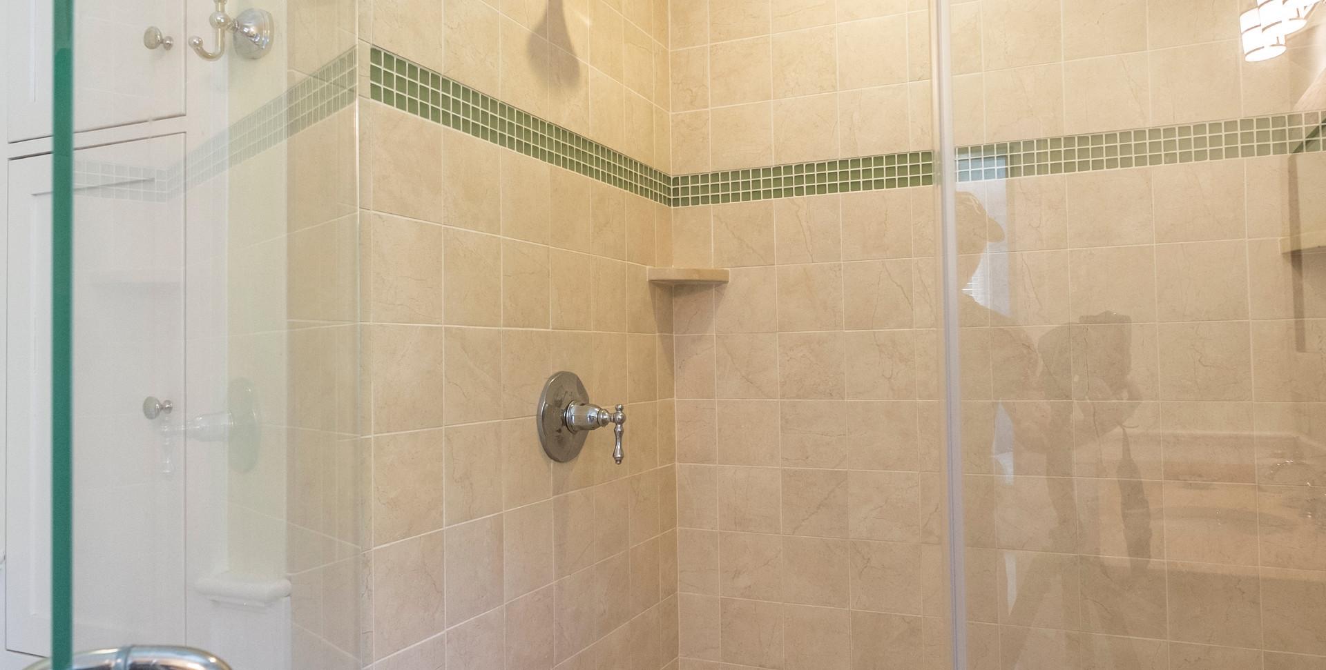 Cape Cod Tiled Shower