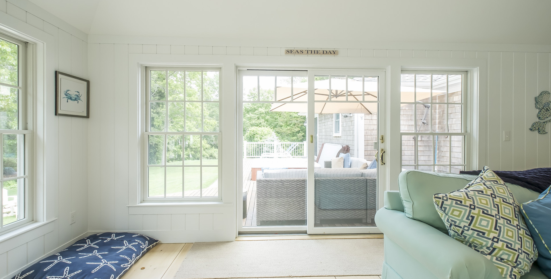 Cape Cod Room with Large Windows