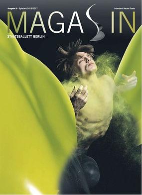 Cover Staatsbalett Magazin