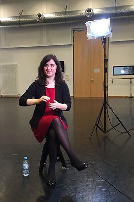 Making-Of Einführungsvideo Staatsballett Berlin mit Paulina Simkin
