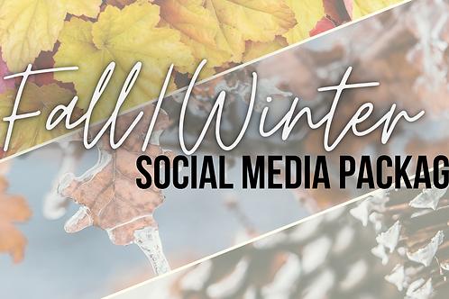 Fall/Winter Social Media Package