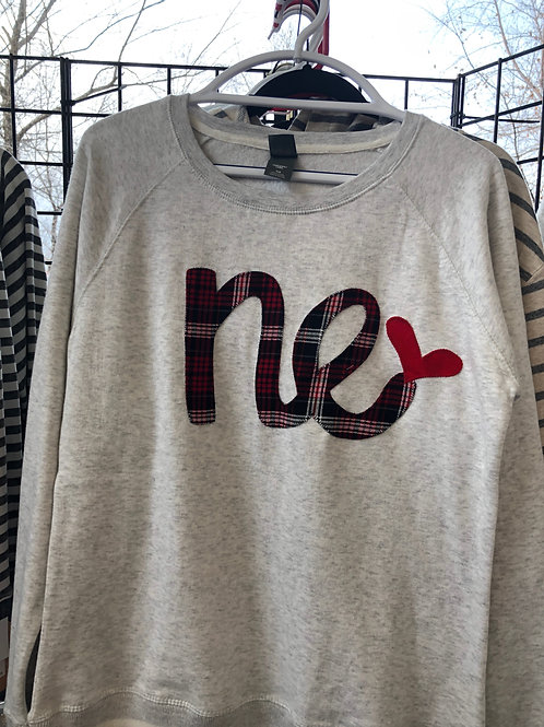 Gilden Sweatshirt with NE (Multiple Colors Available)