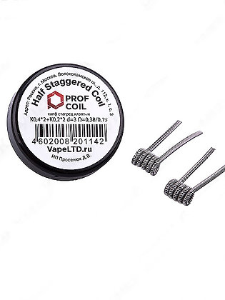 PROF COIL HALF STAGGERED