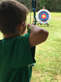 Archery at Summer Day Camp