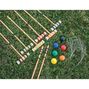 Lawn Games (Croquet, Jenga, Battle Blocks, Noughts and Crosses)
