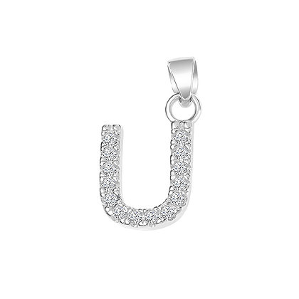 IAM THE LETTER U PENDANT