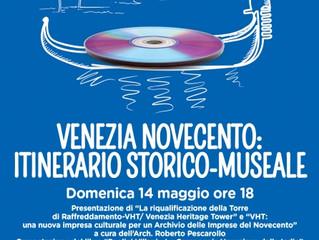 """Presentazione di """"La riqualificazione della Torre di Raffreddamento - VHT /  Venezia Heritage T"""