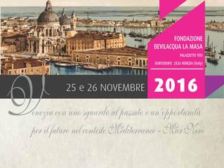 Presentazione a Venezia il 25 e 26  Novembre dell'Itinerario storico-museale VeneziaNovecento e