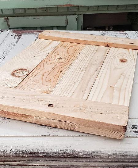 Unfinished Wood Trays