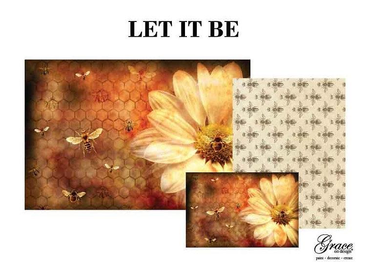 Let It Bee Decoupage Kit