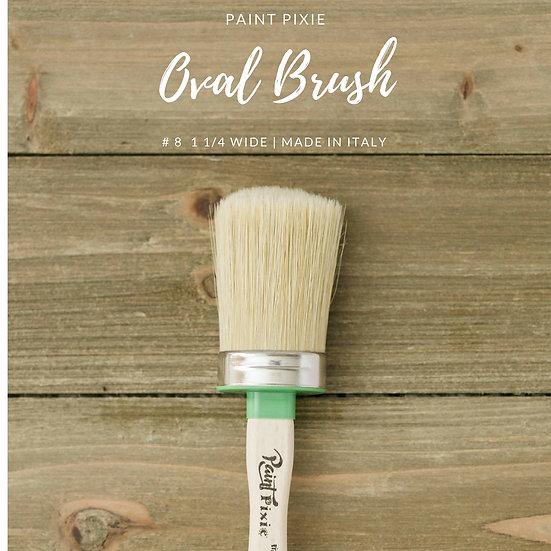 Oval Brush #8