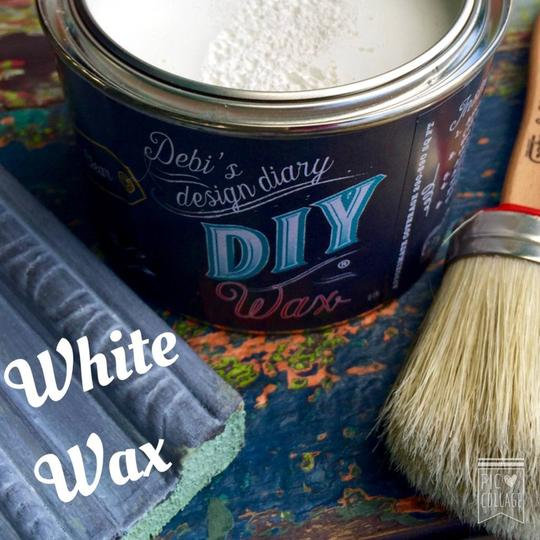 DIY White Wax
