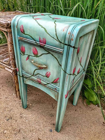 Magnolia Waterfall End Table
