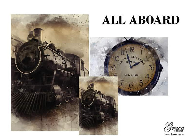 All Aboard - PreOrder **