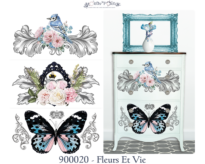 PREORDER Fleurs Et Vie Transfer - Scheduled to arrive 1/10/21
