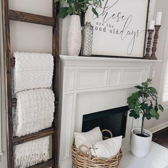 DIY Wooden Blanket Ladder Event!