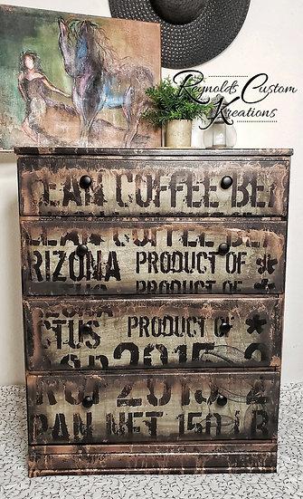 """Coffee Bean"" Dresser"