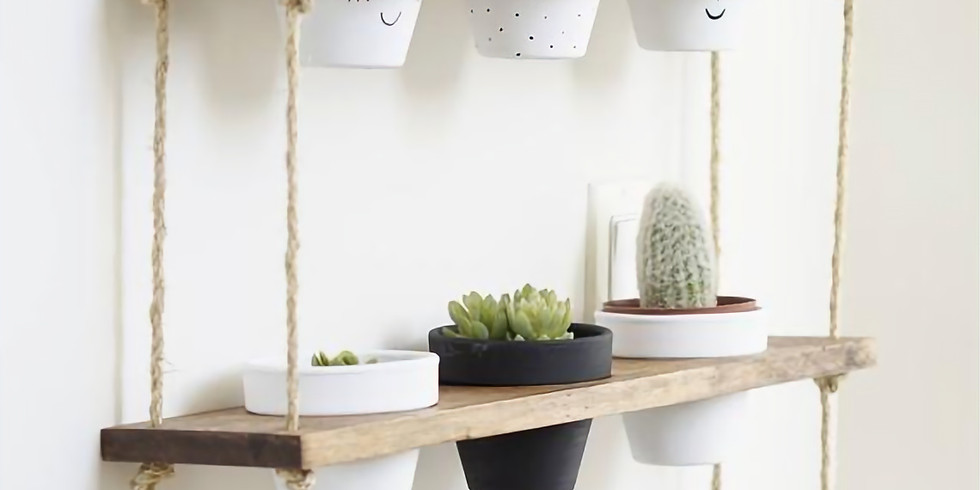 DIY- Rope Shelves Project