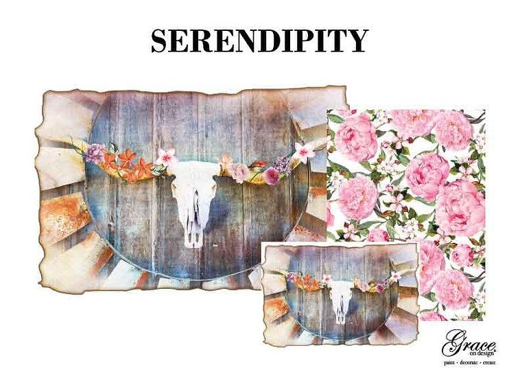 Serendipity Decoupage Kit