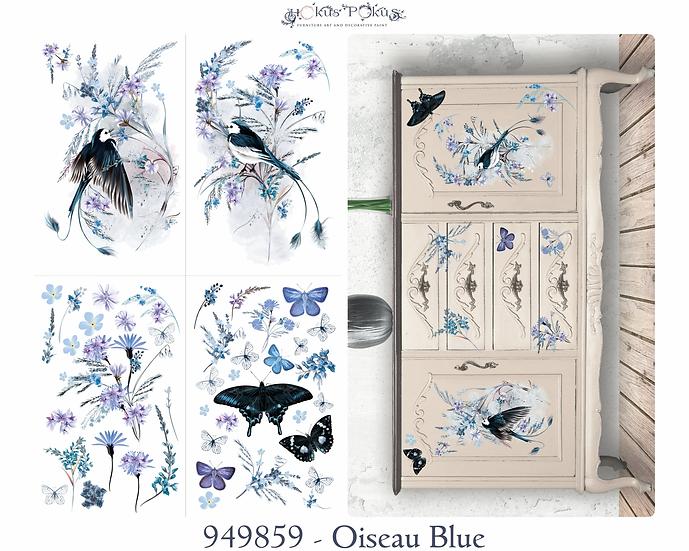 PREORDER Oiseau BlueTransfer - Scheduled to arrive 1/10/21