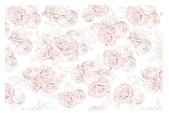 Jardin de Roses Hokus Pokus Image Transfer