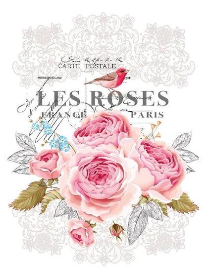 Les Roses Hokus Pokus Image Transfer