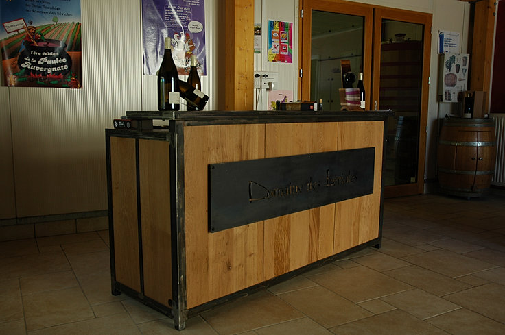 Ferronnerie jean jutier mobilier cuisine for Cuisine comptoir bar
