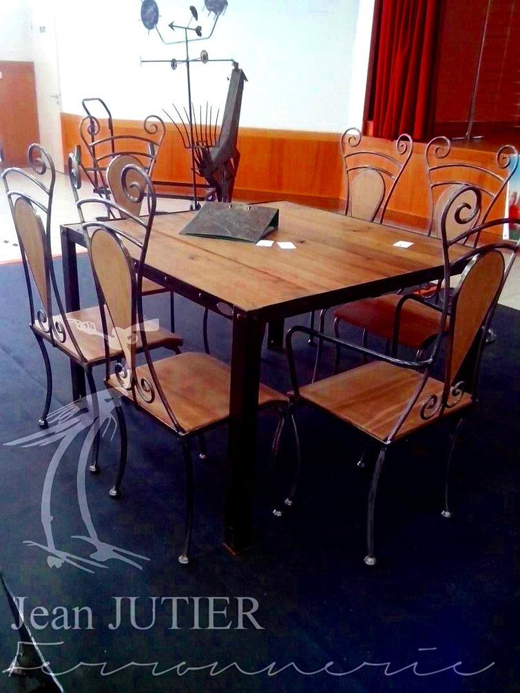 ferronnerie jean jutier mobilier assises. Black Bedroom Furniture Sets. Home Design Ideas