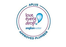approved plumber anglian water