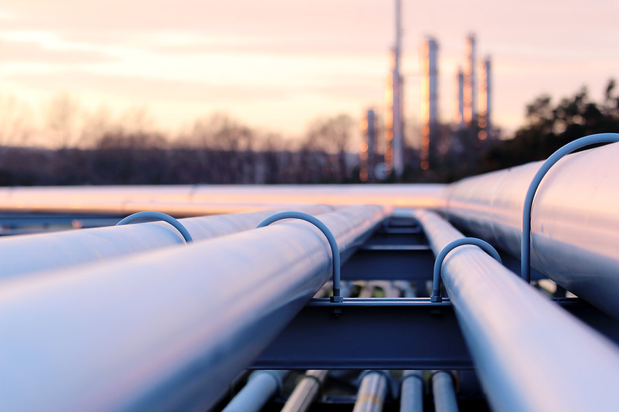 steel long pipes in crude oil factory du