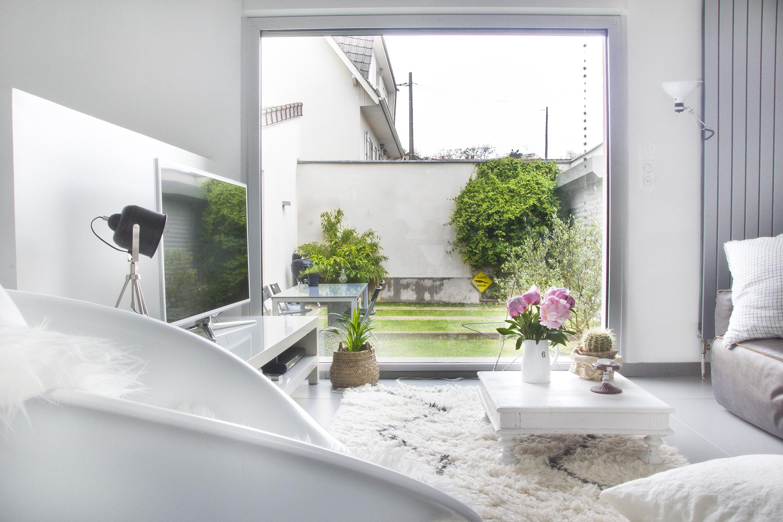 Jardin Maison en blanc