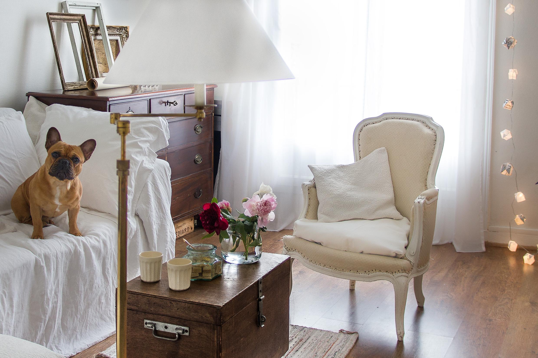 Photographie d'interieurs romantique