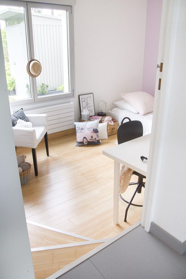 Chambre epurée photo d'interieur