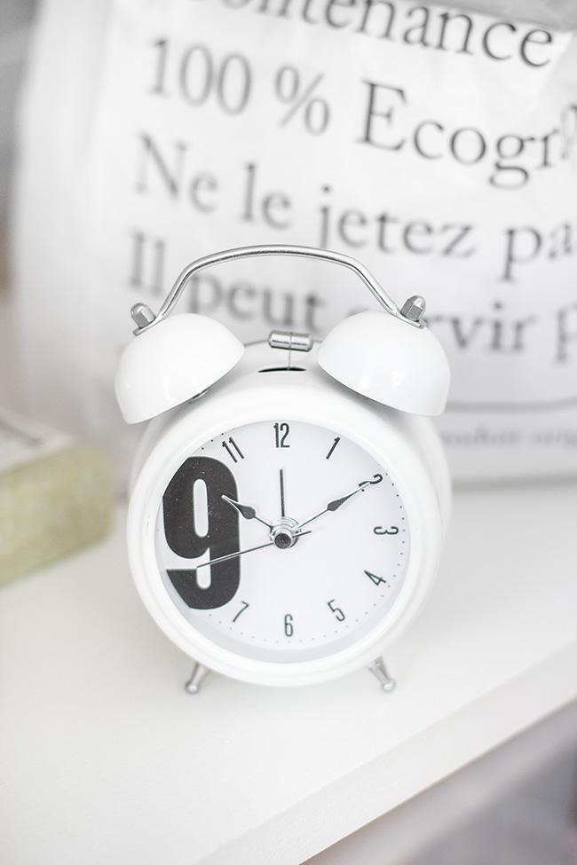 Horloge tendance photo de details
