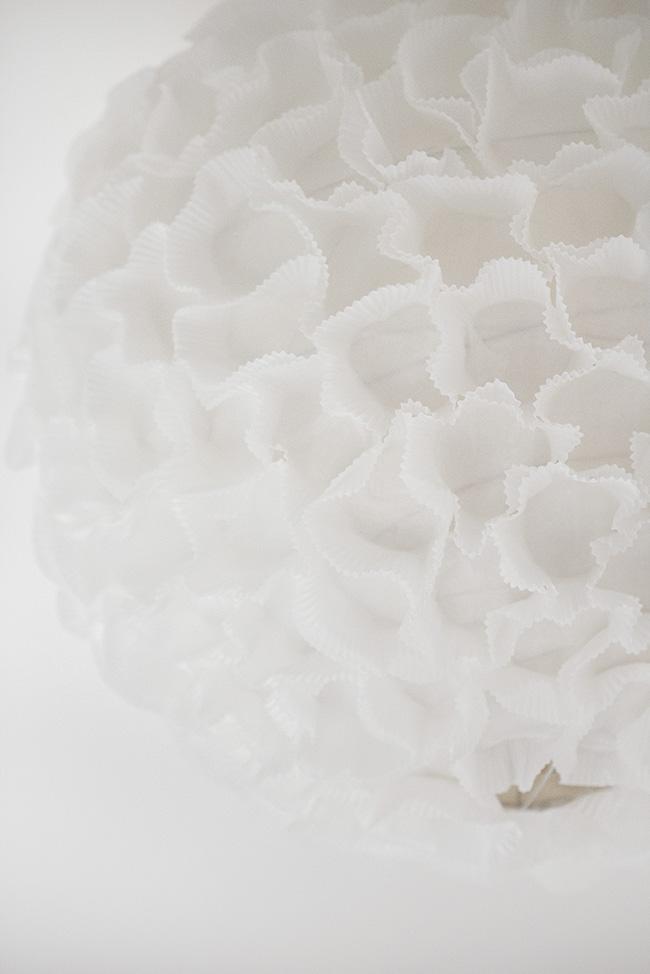 Boule papier Photo de detail