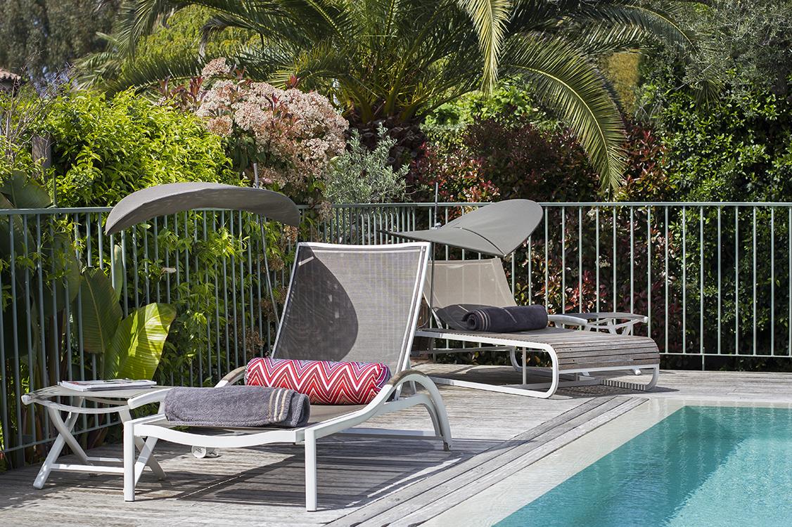 Photo piscine terasse Côte d'Azur