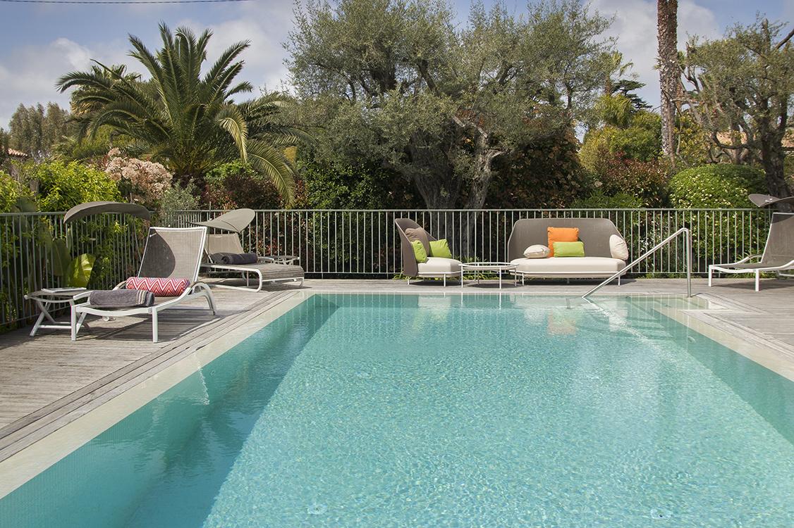 Photographie piscine hôtel