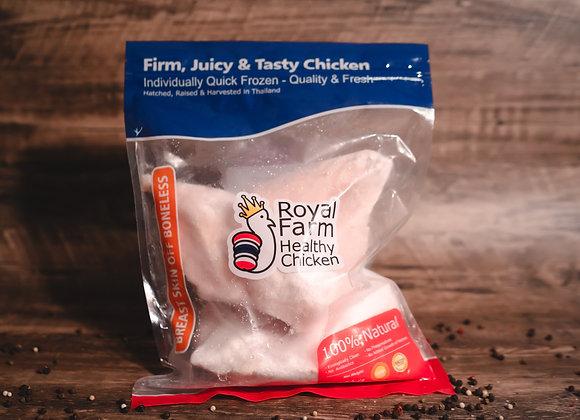 泰國ROYAL FARM無激素健康雞胸肉(1kg)
