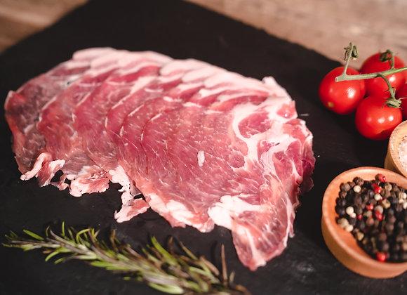 日本鹿兒島黑豚肉片