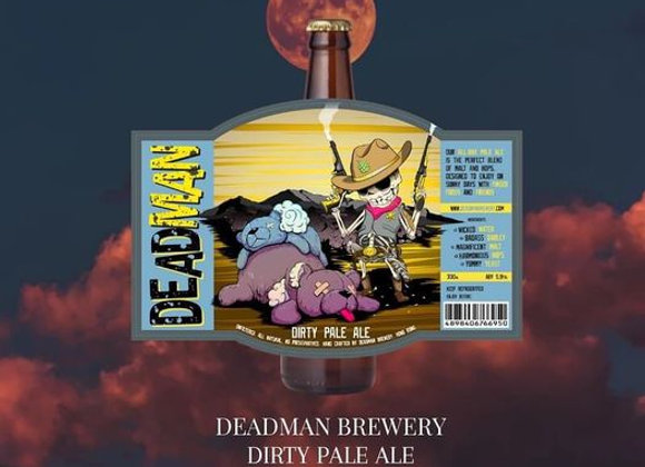 Deadman Brewery Dirty Pale Ale ABV: 5.9%
