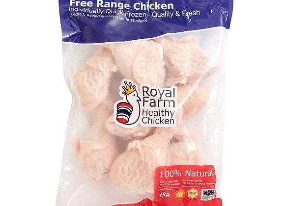 泰國ROYAL FARM無激素健康雞翼槌(1kg)