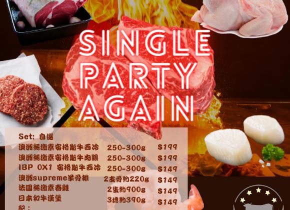 Single Party Again單人餐