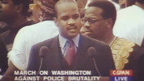 LAMELL MCMORRIS AT THE 37TH ANNIVERSARY MARCH ON WASHINGTON