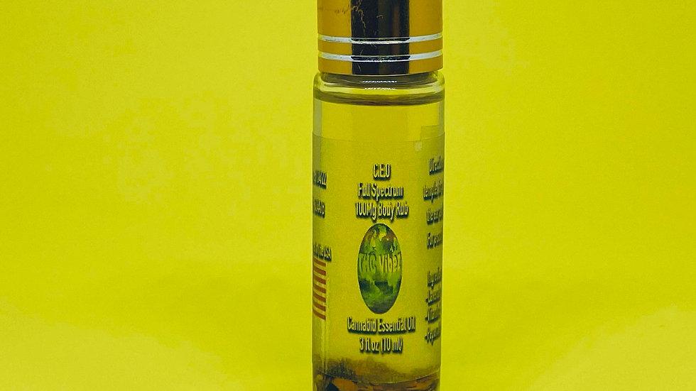 THC Vibez 100 Mg CEO Oil